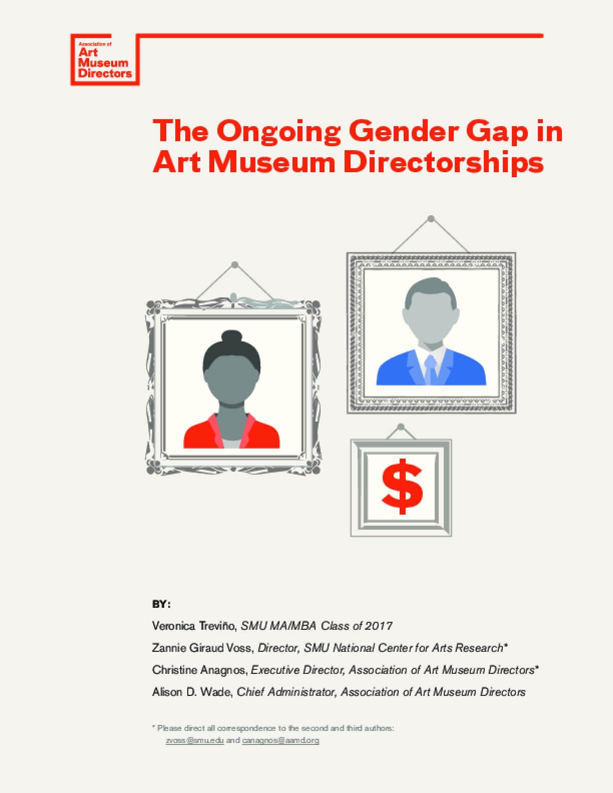 The Ongoing Gender Gap in Art Museum Directorships