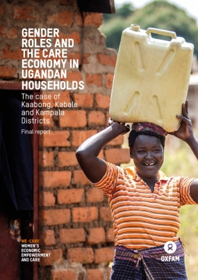 Gender Roles and the Care Economy in Ugandan Households: The case of Kaabong, Kabale and Kampala districts