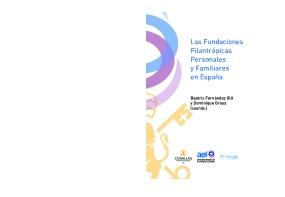 Las fundaciones filantrópicas personales y familiares en España