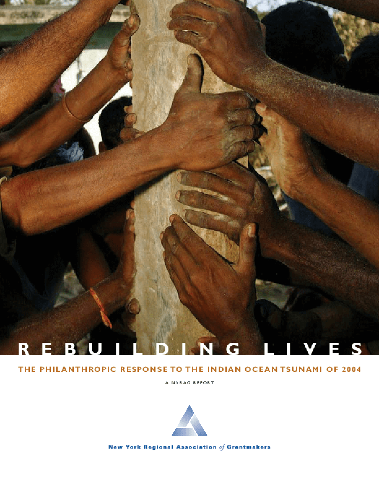Rebuilding Lives: The Philanthropic Response to the Indian Ocean Tsunami of 2004