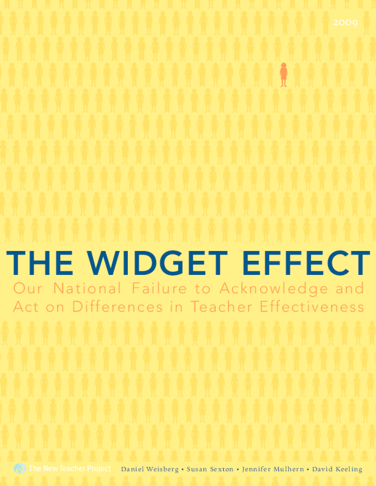 The Widget Effect: Our National Failure to Acknowledge and Act on Differences in Teacher Effectiveness