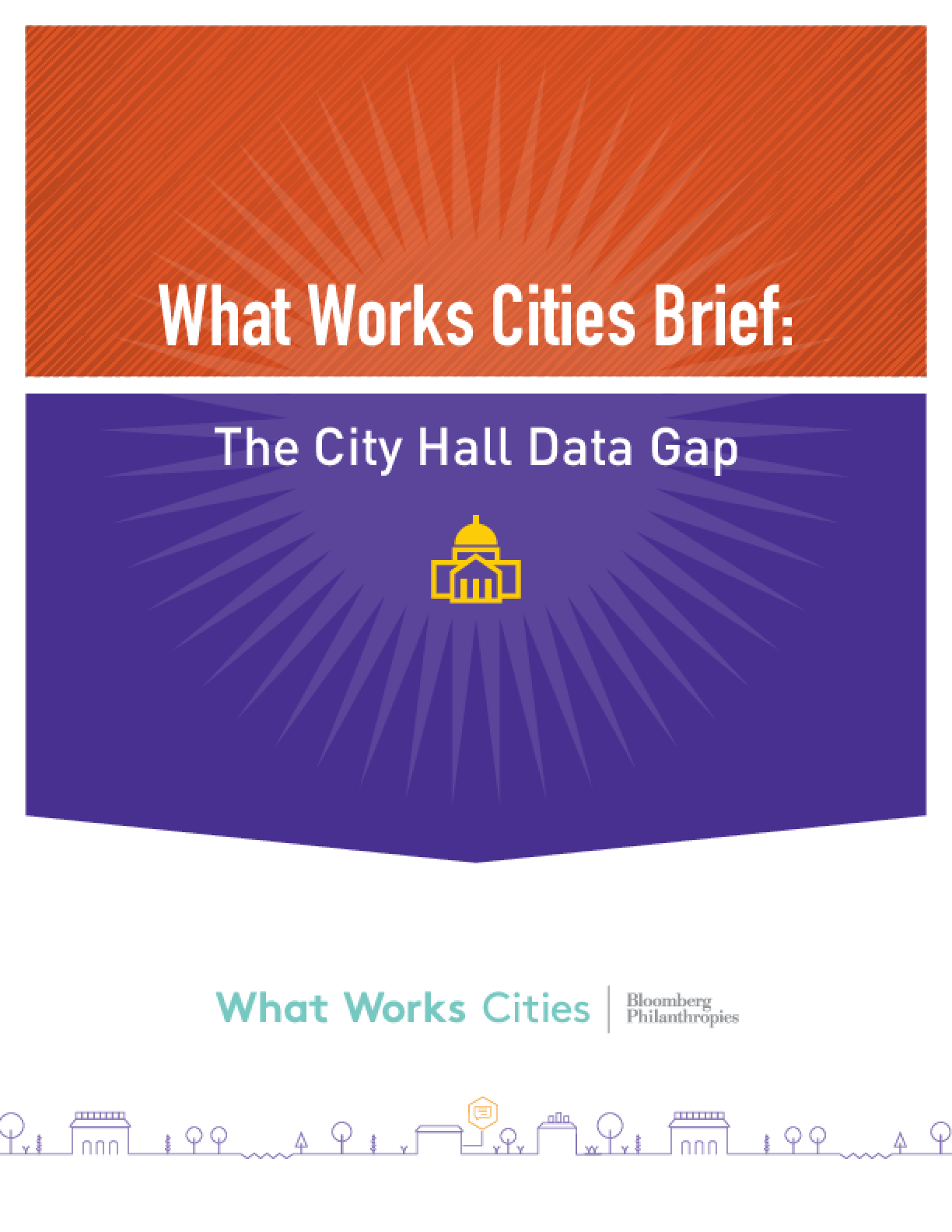 What Works Cities Brief: The City Hall Data Gap