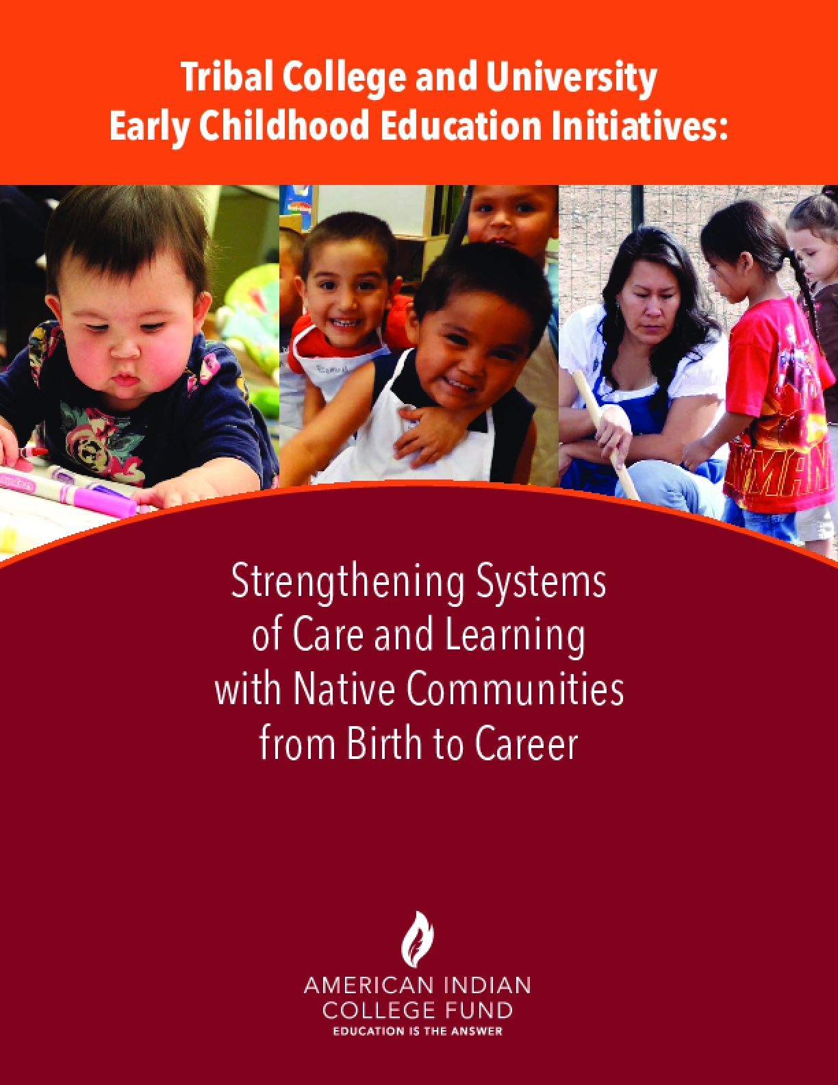 Tribal College and University Early Childhood Education Initiatives: Strengthening Systems of Care and Learning with Native Communities from Birth to Career