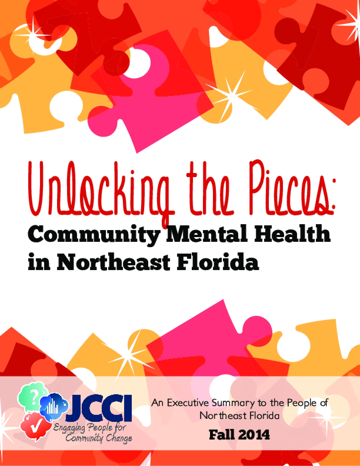 Unlocking the Pieces: Community Mental Health in Northeast Florida - Executive Summary