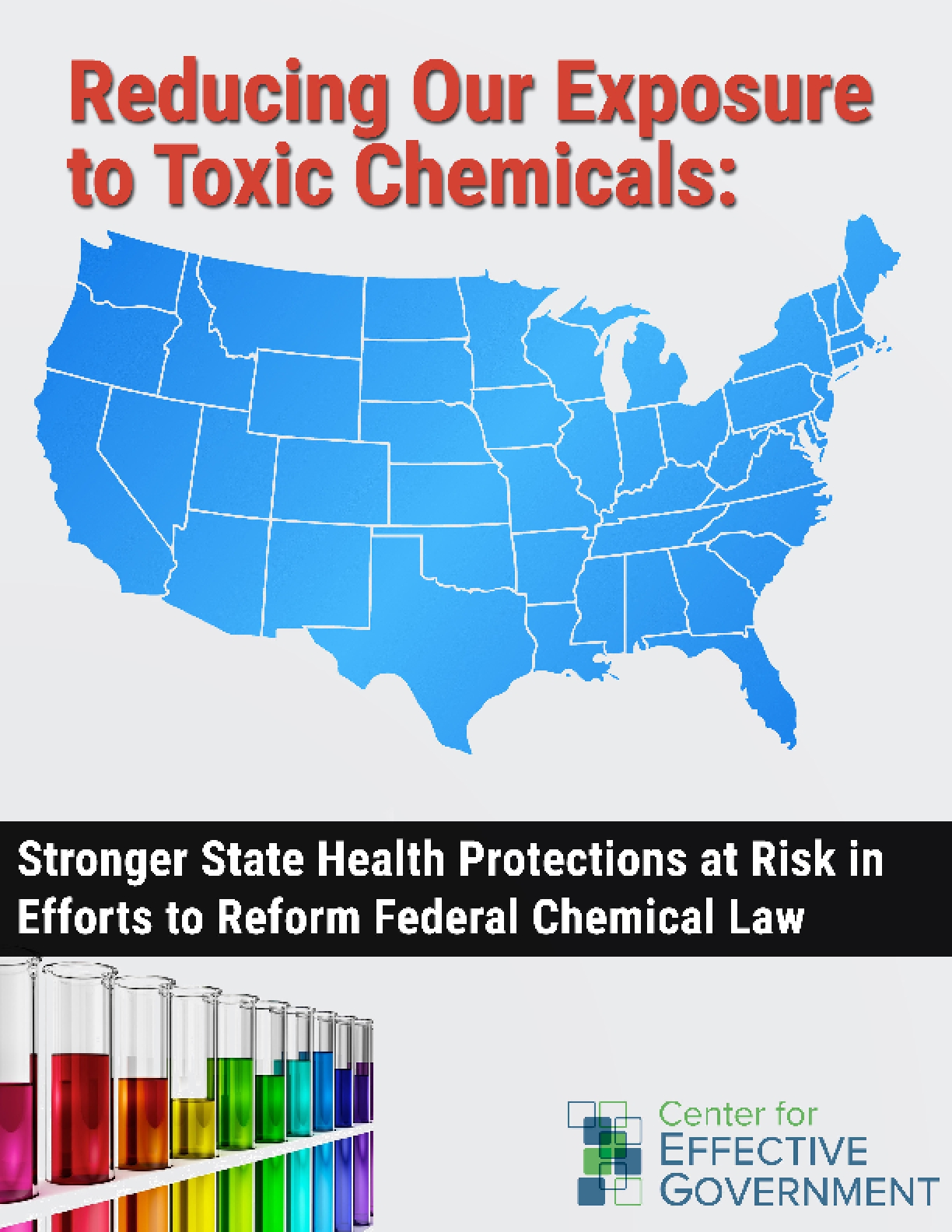Reducing Our Exposure to Toxic Chemicals: Stronger State Health Protections at Risk