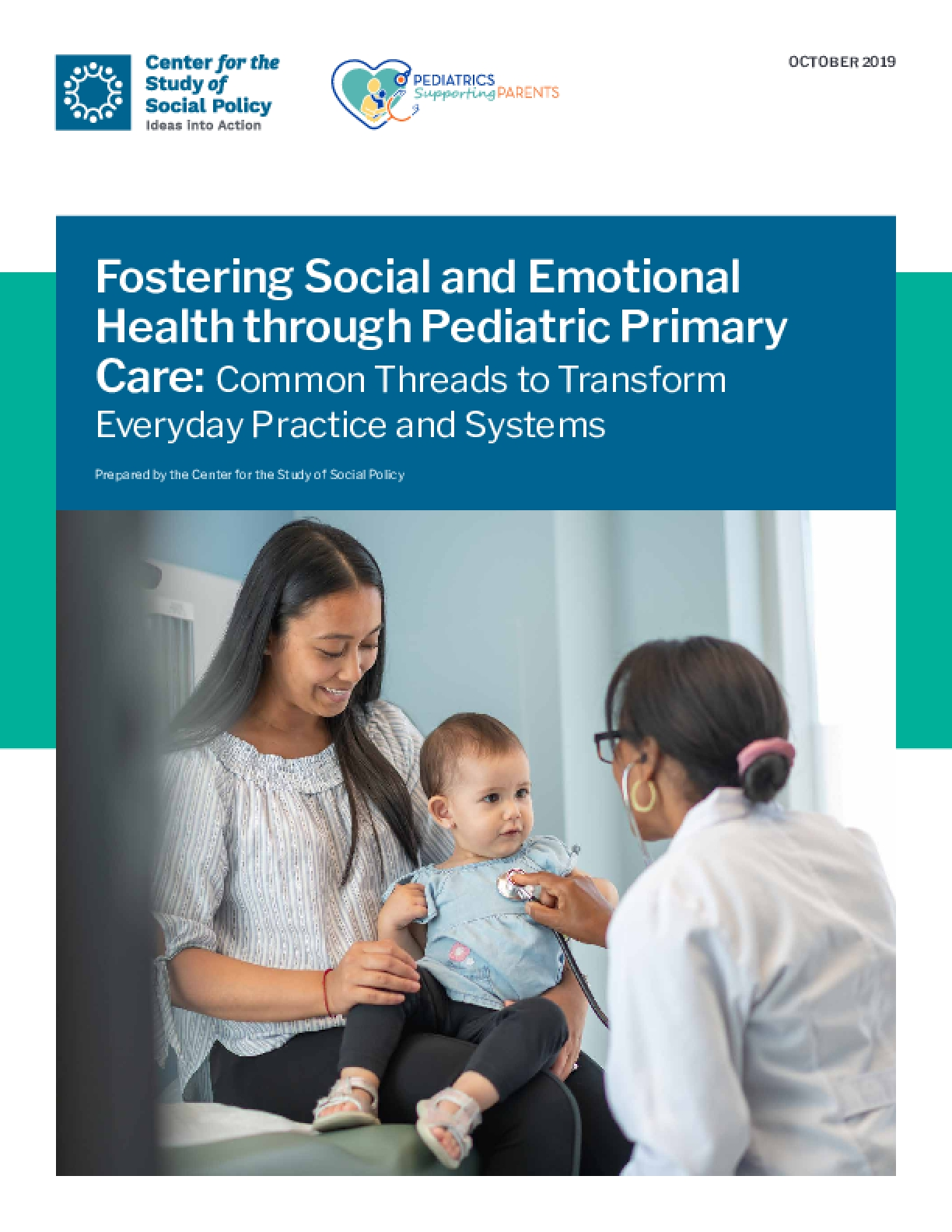 Fostering Social and Emotional Health through Pediatric Primary Care: Common Threads to Transform Everyday Practice and Systems