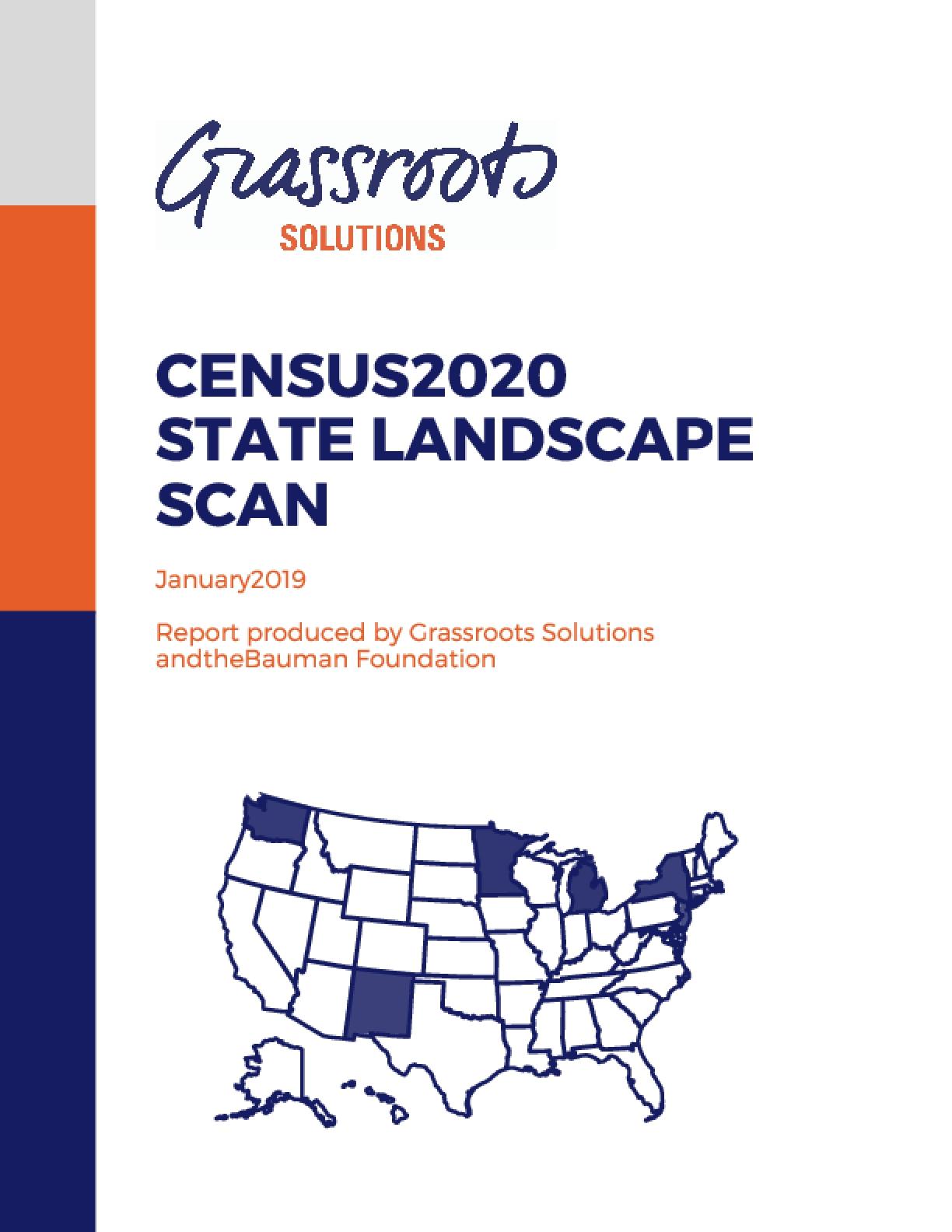 Census 2020 State Landscape Scan