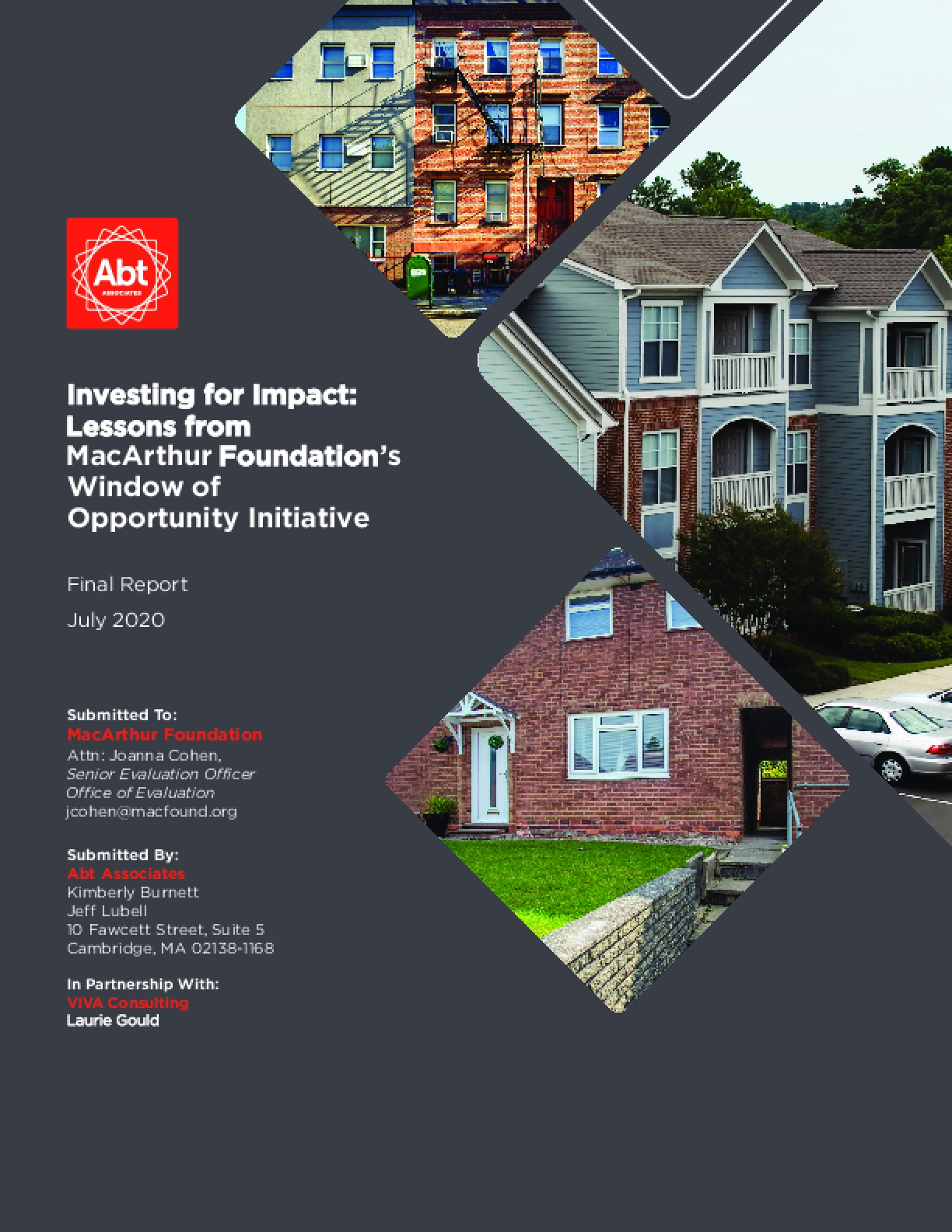 Investing for Impact: Lessons from MacArthur Foundation's Window of Opportunity Initiative