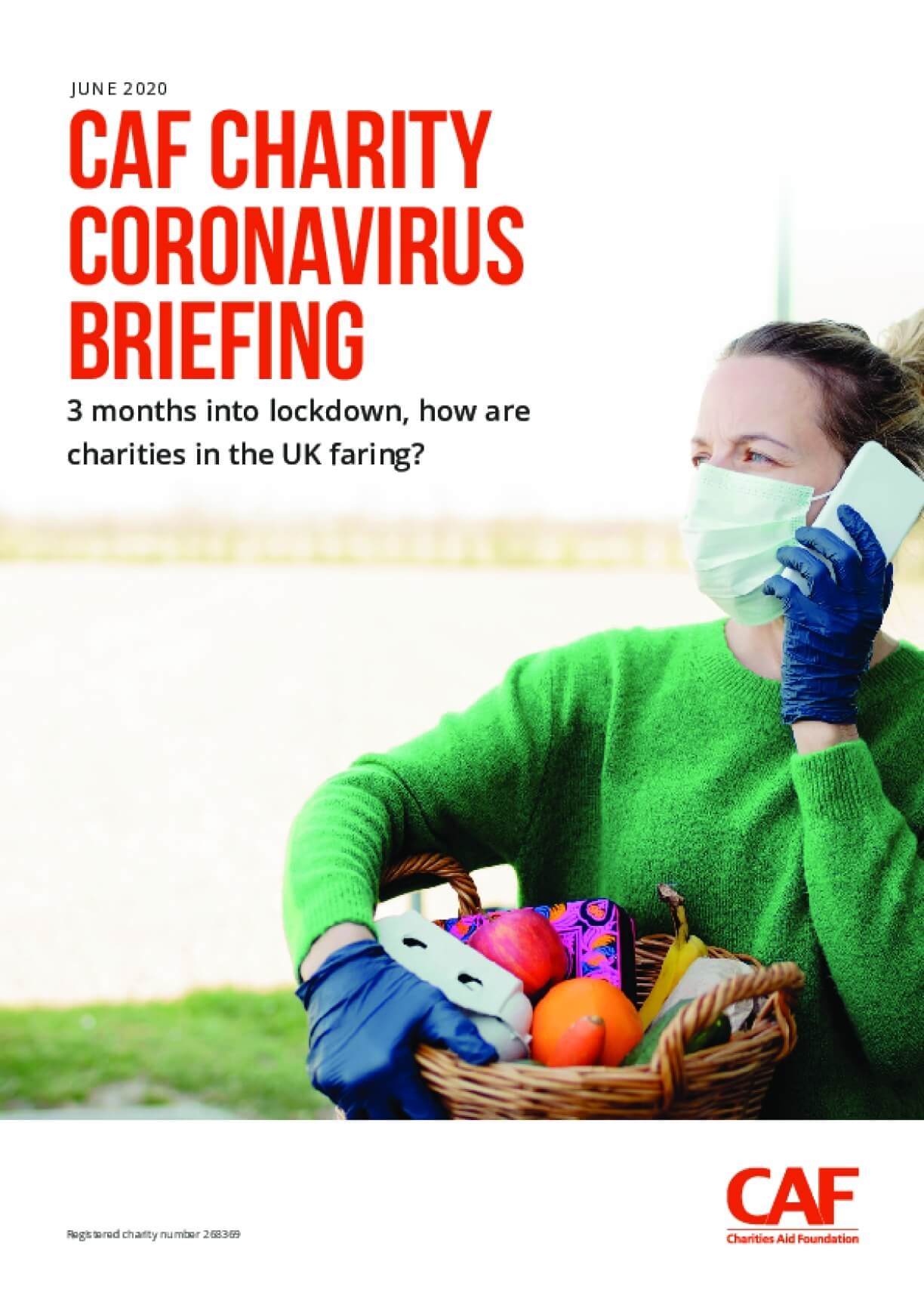CAF Charity Coronavirus Briefing: 3 Months into Lockdown, How Are Charities in the UK Faring?