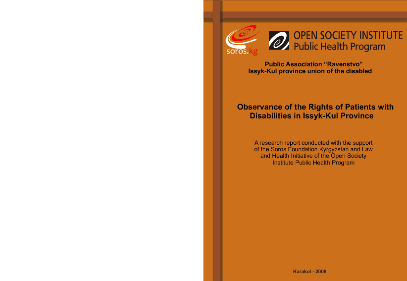 Observance of the Rights of Patients With Disabilities in Issyk-Kul Province